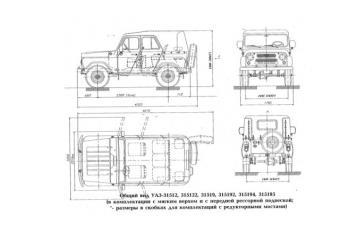 УАЗ М1G до 2006 года выпуска
