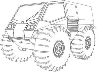 Алексей Гарагашьян запатентовал новую модель вездехода